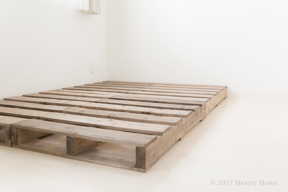 パレットベッドの作り方