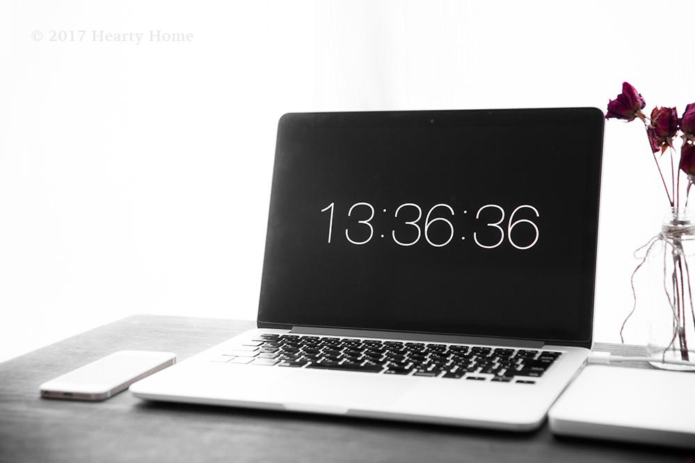 テレビのない暮らし 生活 パソコン mac
