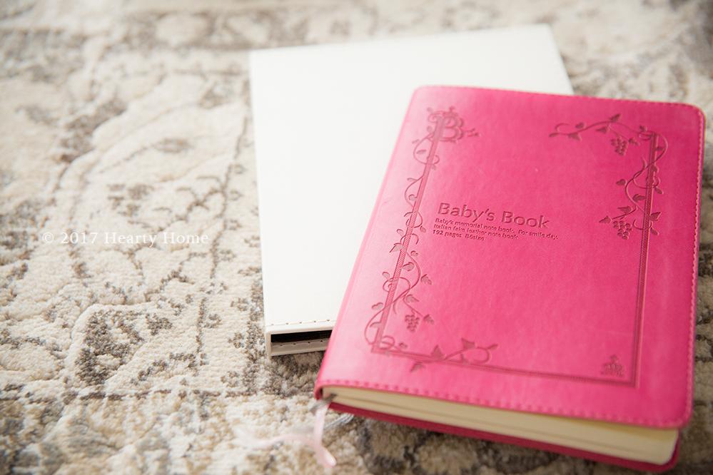 子供 成長 思い出 捨てられない 日記 出産 エコー写真 収納