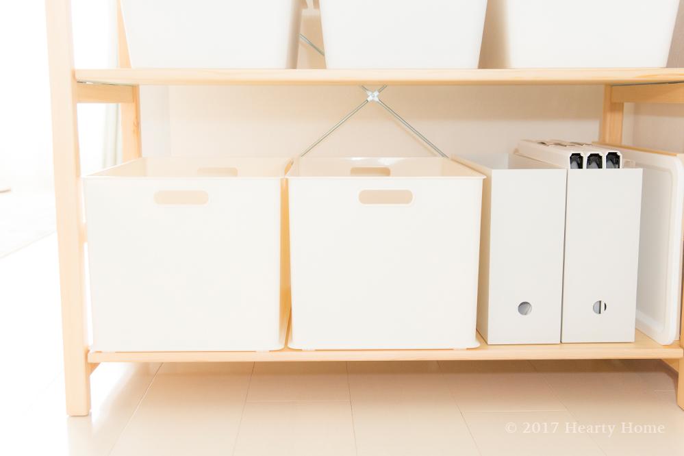 ニトリ 無印 ファイルボックス 子供の作品 捨て方