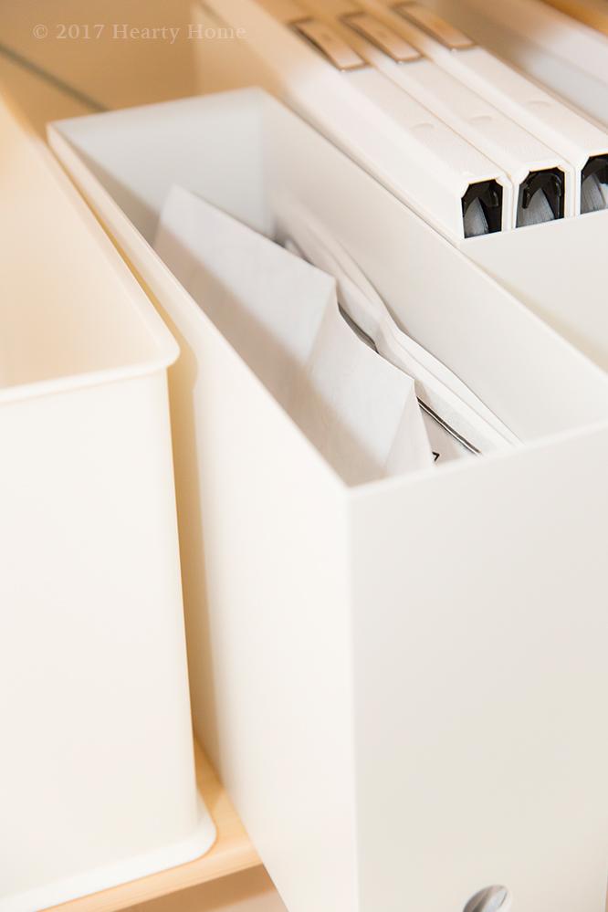 無印 ファイルボックス 子供の作品 捨て方