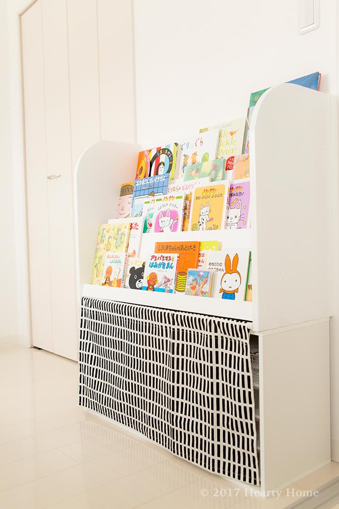 子供の作品 捨て方 絵本棚