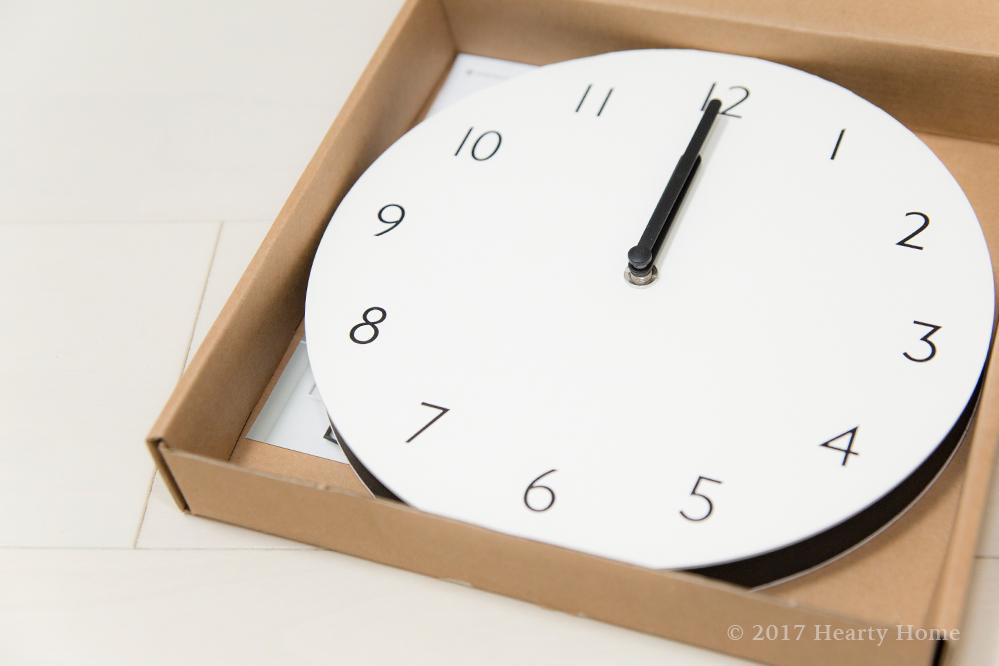 トハギ THEHAKI 壁掛け時計 時間管理 シンプル