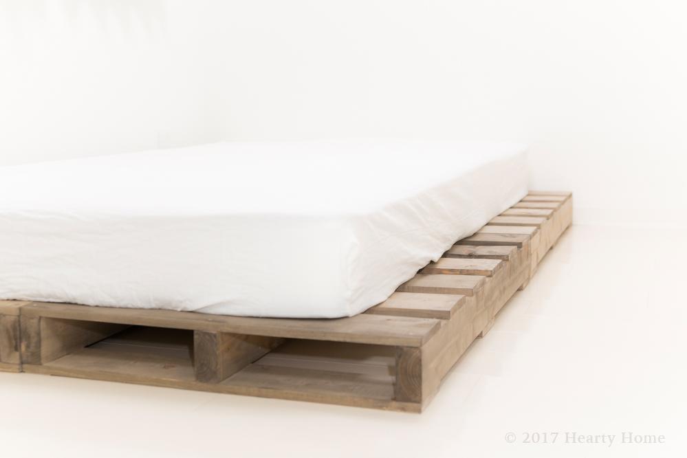 セミダブル ベッドシーツ ボックス 和晒 白 ダブルガーゼ
