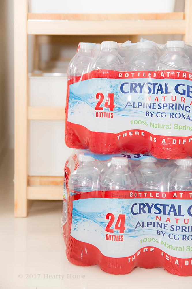 クリスタルガイザー 常備水