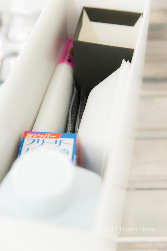 スポンジ交換 キッチン モノトーン サンサンスポンジ 無印 ファイルボックス