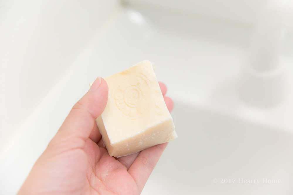 オリプレ バージンオリーブソープ 石鹸シャンプー