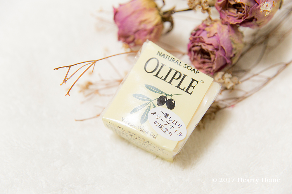 オリプレ バージンオリーブ 石鹸シャンプー