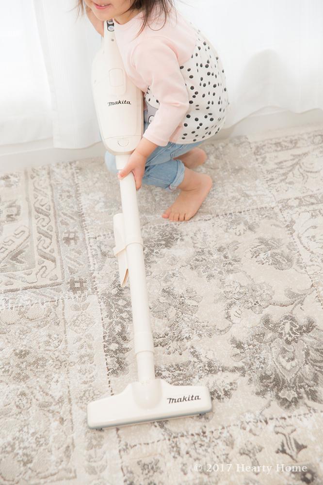マキタ 掃除機 お手伝い 3歳