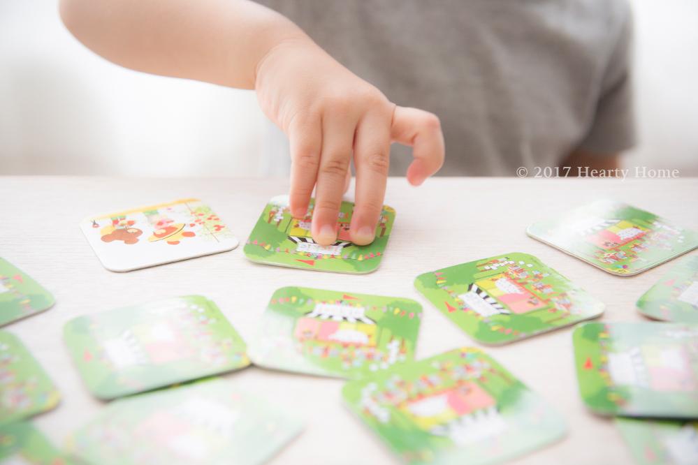 ジャッキー くまのがっこう カードゲーム 神経衰弱