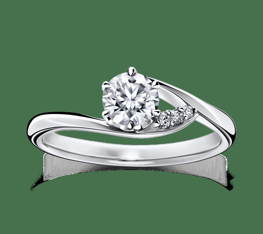 ラザールダイヤモンドのエンゲージリング