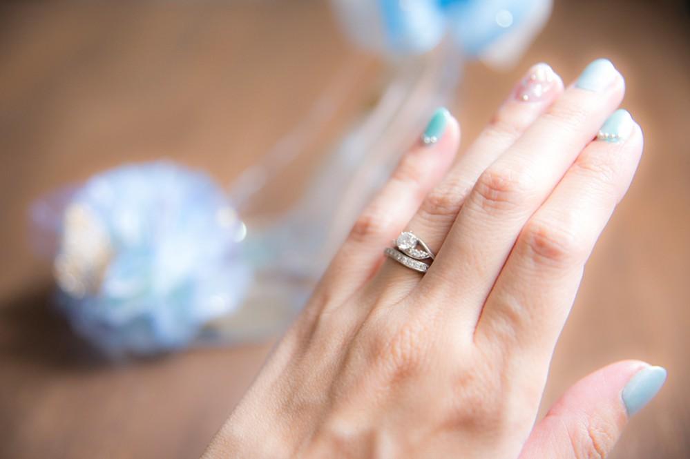 ラザールダイヤモンドの婚約指輪と結婚指輪