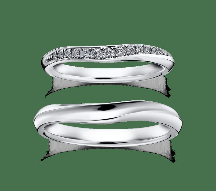 ラザールダイヤモンドのマリッジリング